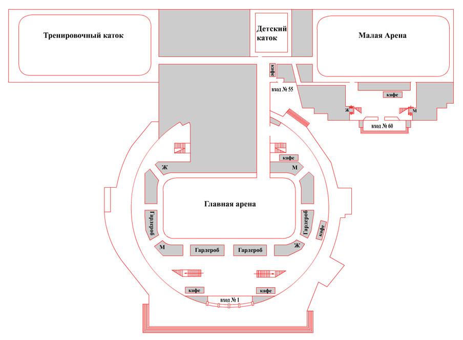 Дк юбилейный тверь схема зала